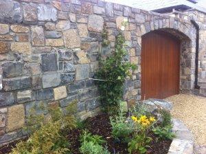 Garden Walling & Archway