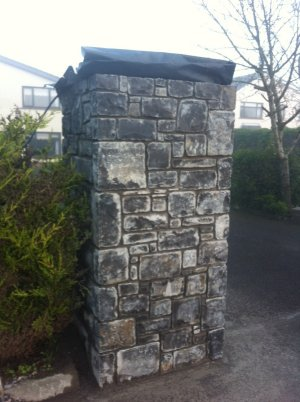 Square Cut entrance piers